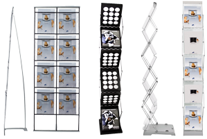Collapsible Literature Racks